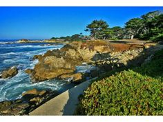 """3168 17 Mile Dr, Pebble Beach, CA 93953 — A breathtaking ocean-front property, """"Sanderling"""" is available for the first time in 50 years. Built closer to the water's edge than possible today. It features a 6,300 sq. ft. main house with 5BR/ 5.5BA, plus a 2BR, 2 full & 2 half bath guest cottage. The nearly three-acre parcel is as stunning as it is private, representing a singular opportunity that is...truly, a Pebble Beach Treasure."""