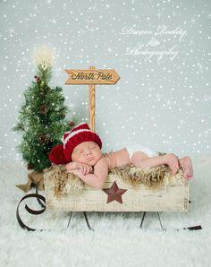 Comment prendre de jolies photos de Bébé avec un bonnet de Noël ?