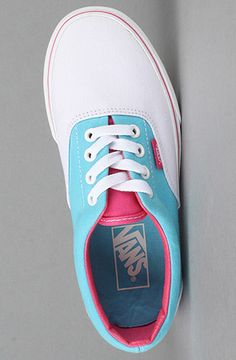 Cotton candy colored vans