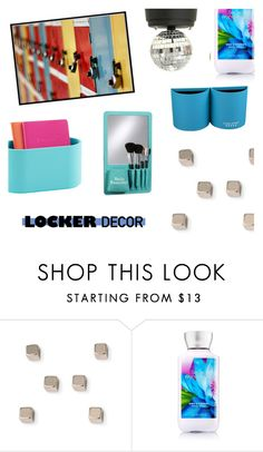 """locker decor"" by shizandgiggles ❤ liked on Polyvore featuring interior, interiors, interior design, home, home decor, interior decorating, mylocker and lockerdecor"