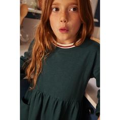 Facon, 12 Year Old, Round Collar, Long Dress Patterns, Dress