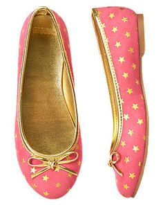 Star Ballet Flat from Gymboree - love!