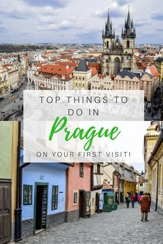 Planning to travel to Prague in the Czech Republic soon? Here's my guide full of tips and things to do on your first visit!