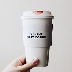 but first coffee I Love Coffee, Coffee Break, My Coffee, Coffee Drinks, Morning Coffee, Coffee Shop, Coffee Cups, Ok But First Coffee, Coffee Mornings