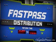 5 Tips on how to maximize Disney's FASTPASS system, because Time = Money! (planning article)
