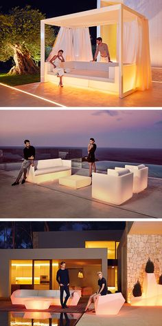 Vondom offers many styles of modern and design illuminated sofas for both indoor and outdoor use. Designed and manufactured in Europe, this furniture is perfectly suitable for professionals such as #architects, #designers, #event organization or #hotels & #restaurants owners. The quality of the materials and their resistance make them particularly suitable for bars, #restaurants, #bar #terraces, #hotels layout and decoration. #vondom #outdoor #lounge #couch #sofa #armchair #restaurant #hotel…