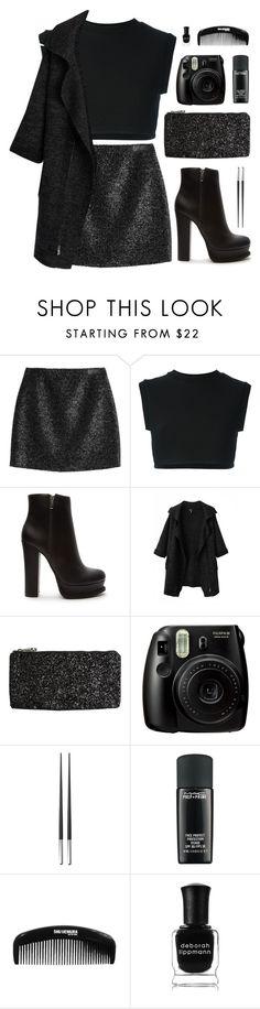 """Black"" by elly3 ❤ liked on Polyvore featuring Victoria, Victoria Beckham, adidas Originals, Forever 21, Chicnova Fashion, Volcom, Christofle, MAC Cosmetics, Deborah Lippmann, women's clothing and women"