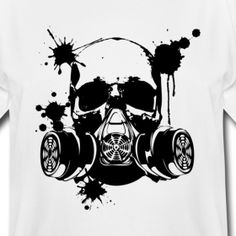 Gas Mask Paint3 By Benallen