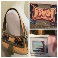 Dolce & Gabbana Floral Leather Suede Handbag  Dolce & Gabbana Floral Leather Suede Handbag. Gorgeous handbag in beautiful spring floral print. Leather handle and suede body. In pre-loved condition please see all photos. One hundred percent authentic guaranteed with hologram authenticity inside as pictured. TV $800 Dolce & Gabbana Bags Satchels