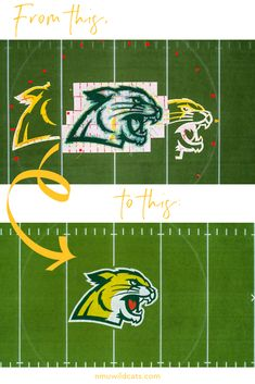 Ever wonder how we paint our logo on the football field? Welcome Students, Homecoming Week, Football Field, Northern Michigan, School Spirit, University, Paint, Logo, Football Pitch