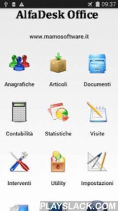 Fatture AlfaDeskSb CRM  Android App - playslack.com ,  AlfaDesk il gestionale per Android permette la gestione dei vostri clienti / articoli con la possibilità' di creare qualsiasi tipo di documento ( ddt ,ordini ,copia commissione, fatture , interventi, preventivi,buoni acquisto, report ecc. ecc. ) Poi abbinare l'app al software AlfaDeskPc scaricabile dal mio sitoCompletamente personalizzabili con database in Sql molto performante.Manuali utilizzo sul mio sitoRisoluzione minima consigliato…
