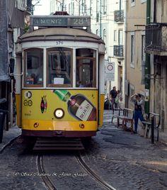 Tranvía lisboeta #Lisboa #lisbon #VisitLisboa