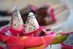 Dragon Fruit makes an colorful fun option for a Fresh Fruit and Vegetable Program