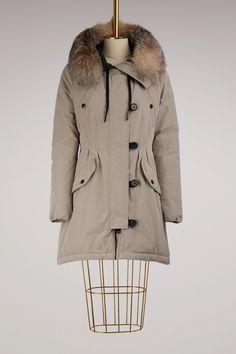 MONCLER Ardhel fitted parka. #moncler #cloth #