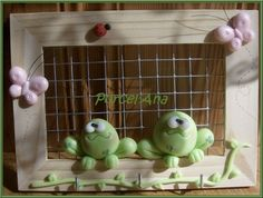 cadre grenouilles