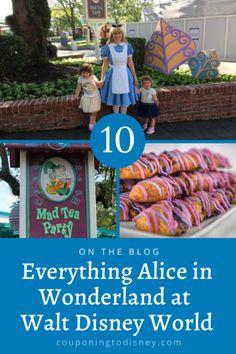 Everything Alice in Wonderland at Walt Disney World