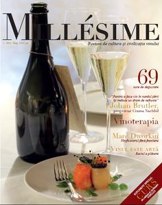First Issue of Millesime Wine Magazine from Romania