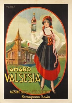 Amaro Valsesia - Vintage Posters - Galerie 123 - The place to find vintage art