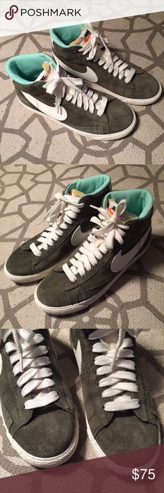 huge selection of 61519 67b2b Nike for J. Crew Suede Blazer Mid Vintage Sneakers