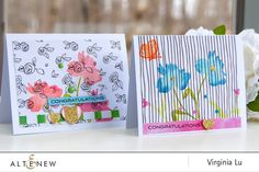 Stamping with Altenew New Day Card Kit - Altenew Blog