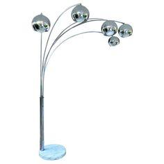 5 arm arch floor lamp black floor lamps pinterest floor lamp 5 arch floor lamp aloadofball Images