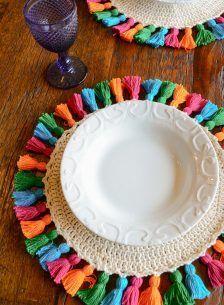 Rope Crafts, Diy Crafts Hacks, Flower Crafts, Yarn Crafts, Diy And Crafts, Crochet Leaf Patterns, Macrame Patterns, Crochet Motif, Crochet Doilies