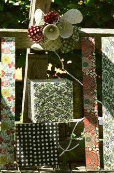 Papier japonais, décorations