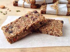 quinoa recipes fruit and nut bar