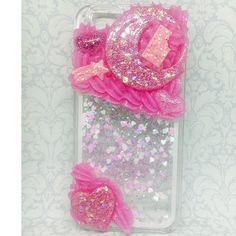 Kawaii Pink Decoden Waterfall iPhone 6/6s/7 Phone Case