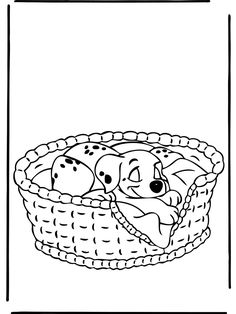Dalmation Coloring Pages 12