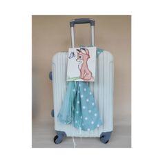 βαλίτσα-αλεπού Suitcase, Fashion, Moda, Fashion Styles, Fashion Illustrations, Briefcase
