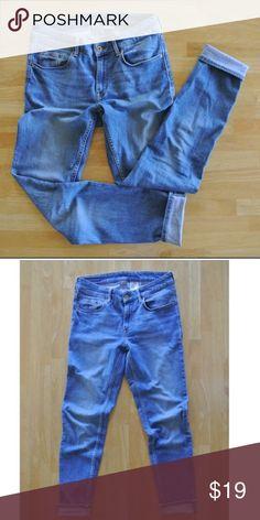 Джинсы Victoria Beckham для Rock And оригинал размер 28 Usa джинсы укороченные