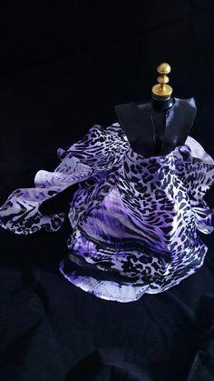 Vestido Roxo Oncinha #dress #doll #vestido #boneca #barbie #purple #oncinha #roxo