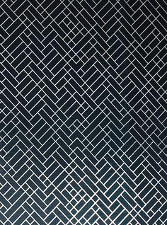 ERICA WAKERLY Tapet Cafe Tile Wallpaper