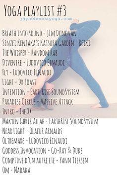 A vinyasa flow yoga playlist. A mixture of instrumental and yoga music.