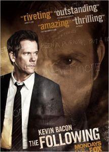 The Following, une excellente nouvelle série américaine avec Kevin Bacon.