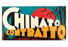 Affiche d'une publicité, vers 1930, Italie (105$), à L'affichiste