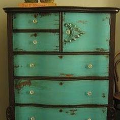A dresser of sorts... Vintage. You know.