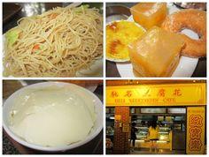 Deli Vegetarian Restaurant, Lantau Island, Hong Kong.