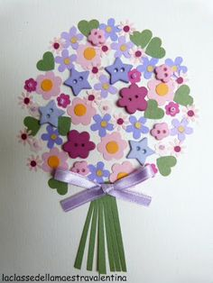 spring-flower card
