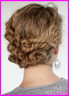 nice Updos for permed hair