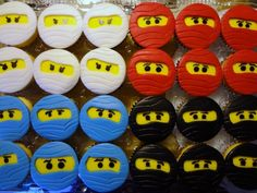 nijago lego cupcakes Tyler would die... Must make these (: