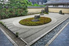 """Isshidan"" garden by dry landscape style called ""Karesansui"" based on ""Shinsen"" thought in Taoism, which is the one of typical themes in Zen garden. This expresses legendary Mt. Horai(Horai Island) in China where immortal hermit lives and the symbol of longevity, crane and turtle. Ideal perspective of spiritual enlightment. #daitokuji #ryogenin #isshidan #karesansui #zen #zentemple #zengarden #japanesetemple #japanesegarden #japantrip #traveljapan #ilovejapan #日本旅遊 #japon #giappone #jepun…"