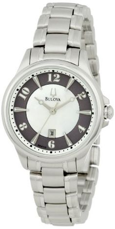 Bulova Womens 96M113 Adventurer Mother of Pearl Watch >>> More info could be found at the image url.