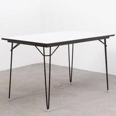 Located using retrostart.com > Dining Table by Unknown Designer for Kembo