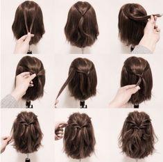 Confira lindos penteados fáceis 2018 para fazer sozinha. Veja muitas fotos, passo a passo simples de penteados fáceis 2018 e dicas!