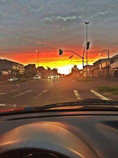 Pôr do sol na #minhapvai - Tayná Paes!