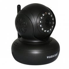 IP Camera Wanscam HD 720P HW0021 Met Opname  Wij bieden u een IP Camera aan waar u mee op een makkelijke manier mee kan kijken via computer/laptop smartphone of tablet. Vanwege de P2P techniek werkt de camera ook direct al buiten uw eigen netwerk via uw 3G of 4G. Er zit ook een audio functie op deze IP Camera dus is het meeluisteren en terugspreken mogelijk dankzij de ingebouwde microfoon en luidspreker. Verder is de IP Camera ook voorzien van nachtzicht zodat u ook in de nacht tot10 meter…