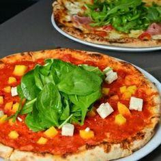 Spinch pizza