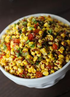 Grilled Corn and Quinoa Salad